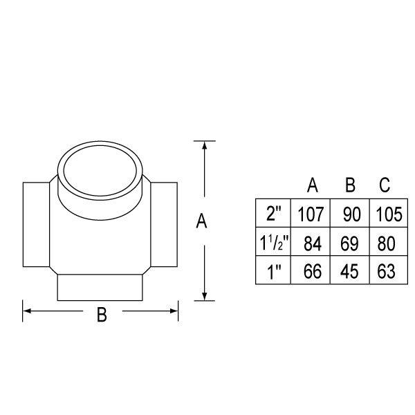 SS-330 Ball So Tee(135º)-1