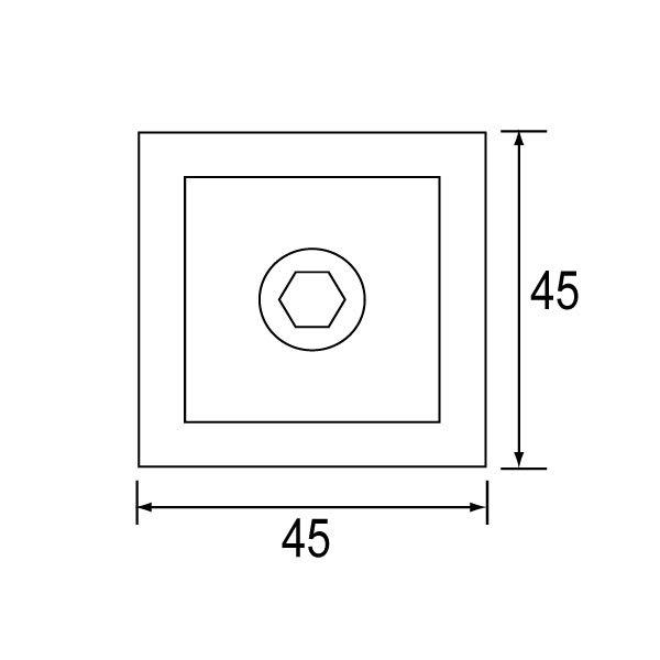 SS-1112 Glass Clip-1